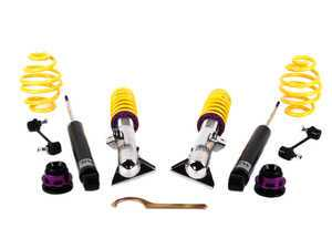 ES#2215044 - 15220012 - KW V2 Series Coilover Kit - Variant 2 coilovers offer sport handling with adjustable rebound dampening - KW Suspension - BMW