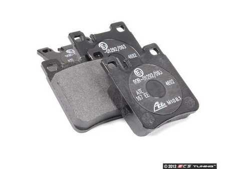ES#2550730 - 0034203020 - Rear Brake Pad Set - Does not include new pins or hold down spring - ATE - Mercedes Benz