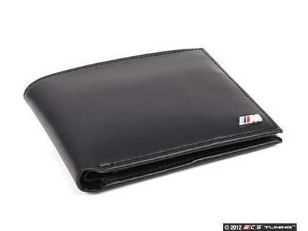 ES#190408 - 80210435794 - BMW ///M Wallet - Show off your pride and love for BMW - Genuine BMW - BMW