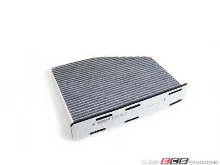 ES#261676 - 1K1819653B -  Charcoal Lined Cabin Filter / Fresh Air Filter - A commonly missed filter, used to filter incoming air into the cabin - Hengst - Audi Volkswagen