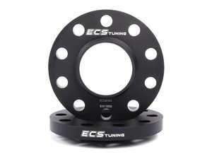 ES#2550829 - ECS264E71 - BMW Front Wheel Spacer Kit - 15mm - Aluminum wheel spacers, made specifically for your BMW - ECS - BMW