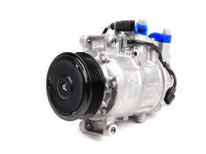 ES#2500571 - 8E0260805BJ - A/C Compressor - Includes the electromagnetic clutch assembly - Denso - Audi