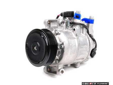 ES#2500571 - 8E0260805BJ - A/C Compressor - Includes the electromagnetic clutch assembly - Denso - Audi