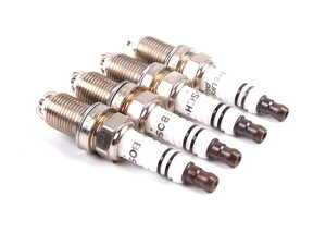 ES#593 - FR7LDC+/4 - Spark Plugs - Set Of Four - Keep your engine running strong. - Bosch - Audi Volkswagen