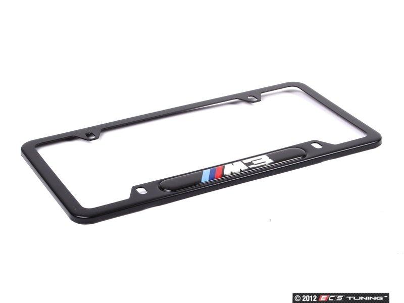 es11484 82120010400 bmw license plate frame m3