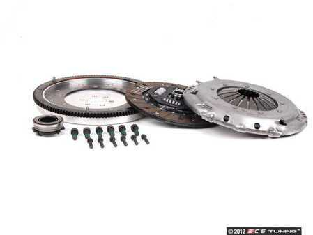 ES#1387 - ESR198031S1LWFW -  Stage 1 Clutch Kit - Aluminum Flywheel (7lbs.) - Great for sport driving and mildly tuned cars holding up to 250 ft-lbs. - Assembled By ECS - Audi Volkswagen