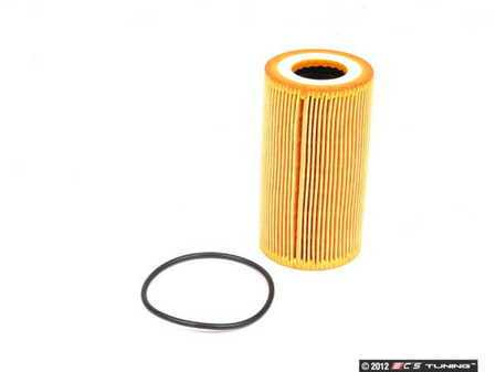 ES#2535597 - 99610722553 - Oil Filter Element - Ensure that your engine is getting clean a oil supply with a new filter - Bosch - Porsche
