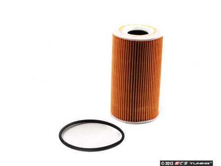 ES#10228 - 99610722553 - Oil Filter Element - Includes rubber sealing ring - Genuine Porsche - Porsche