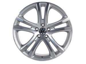 """ES#259489 - 5N0071499666 - 19"""" Savannah Alloy Wheel, ET33 - 3B7601171XRW - center cap - Volkswagen Zubehor -"""