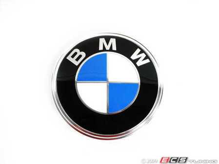 ES#78975 - 51141872969 - Trunk Emblem - Priced Each - New emblem for the trunk of your BMW - Genuine BMW - BMW