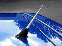 ES#2531 - 230-20588 - Antenna - Aluminum cone antenna with ball top - JOM - Audi Volkswagen