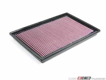 ES#11878 - 33-2384 - Performance Air Filter - Drop in some power!! - K&N - Audi Volkswagen