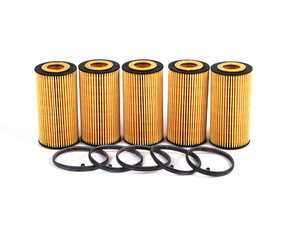ES#252601 - 06D115562 - Oil Filter Kit - Pack Of 5 - Stock up for future maintenance! - Hengst - Audi Volkswagen