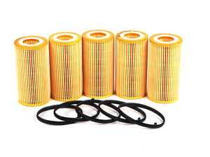 ES#5135 - 06D115562.5 - Oil Filter - Pack Of 5 - Stock up for future maintenance! - Mann - Audi Volkswagen