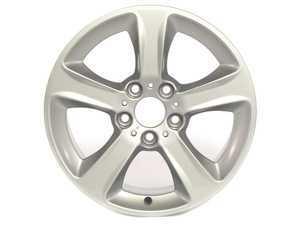 "ES#64849 - 36116765346 - 17"" Spider Spoke Style 137 Wheel - Priced Each - 17x7 ET 47 72.6 CB - Genuine BMW - BMW"