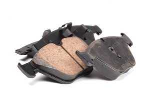 Front Euro Ceramic Brake Pad Set