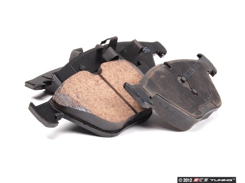 Akebono Eur918a Front Euro Ceramic Brake Pad Set