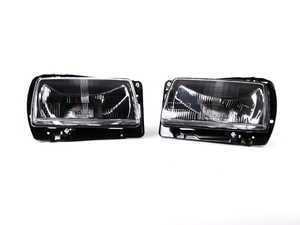 ES#4017115 - HVWJ2HL-B-70 - Black European Aero Headlight Set - Give your aero front end a stunning new look - Helix - Volkswagen