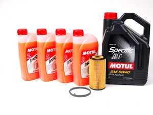 ES#2550249 - MO00002 - Turbo Installation Kit - APR turbo install fluid kit with Motul fluid - APR - Volkswagen