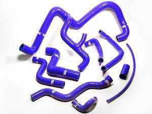 ES#3589 - TCS218CB - Samco Silicone Coolant Hose Kit - Blue - Complete kit to replace all of your coolant hoses - Samco - Volkswagen