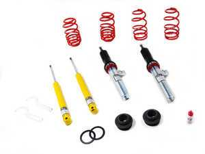 "ES#261639 - 29101-1 - Street Performance Coilover Kit - Unrivaled comfort and performance. Average lowering of 1.5""-2.0""F 1.5""-2.5""R - H&R - Audi"