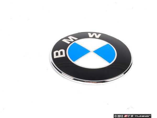 Genuine Bmw 51147200474 Bmw Emblem Roundel Trunk