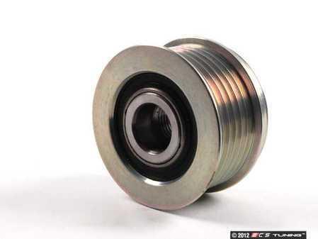ES#2712685 - 99760315400 - Alternator Pulley - 6-groove, 56mm pulley with free wheel lock - Gates - Porsche