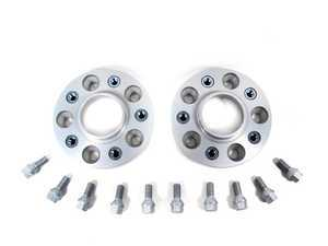 ES#364 - 5075725 - DRA Series Wheel Spacers - 25mm (1 Pair) - Mounting bolts included, these spacers bolt to the hub and the wheels bolt to the spacers using your stock lug bolts. - H&R - BMW