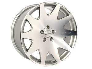 ES#2526438 - HR03209551235S - HR3 (20x9.5, 5x112, ET35) Silver W/ Diamond Cut Face - MRR Design -