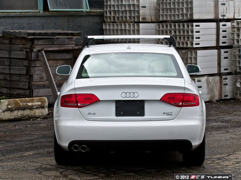 ecs news audi b8 a4 s4 roof rack base bars. Black Bedroom Furniture Sets. Home Design Ideas