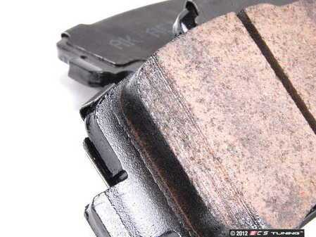 ES#2562100 - 8E0615301ADK3 - Front & Rear Brake Service Kit - Featuring Meyle rotors and Vaico semi metallic pads - Assembled By ECS - Audi