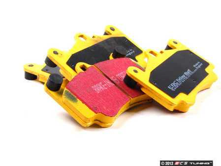 ES#520876 - DP41515R - YellowStuff Performance Brake Pad Set - A race-quality pad that can be used on the track or on the street - EBC - Porsche