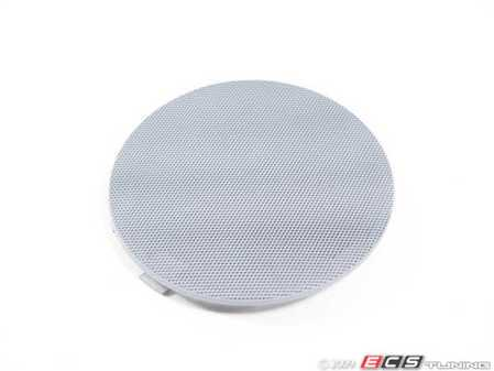 ES#102059 - 51418224378 - Speaker Cover - Right Front - Grau/Grey. Protects the front door speaker - Genuine BMW - BMW