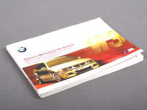 ES#12910 - 01410155433 - E46 M3 Coupe Owner's Manual - 2001 - Full of useful information and specifications - Genuine BMW - BMW