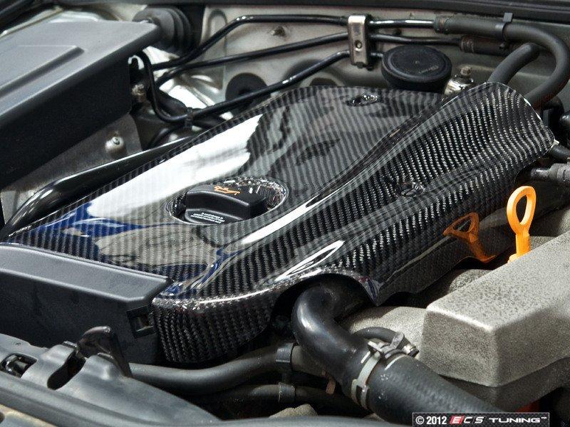 Ecs News Vw B5 1 8t Passat Carbon Fiber Engine Cover