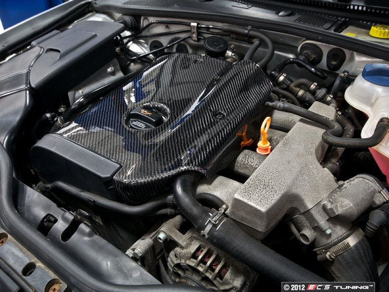 Ecs News Audi B6 A4 18t Ecs Carbon Fiber Engine Cover