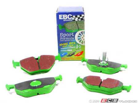 ES#517811 - DP21289 - Rear GreenStuff Performance Brake Pad Set - Mildly upgraded pad for an afternoon of sporty driving - EBC - BMW