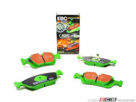 ES#517797 - dp2914 - GreenStuff Performance Brake Pads - Front - Same as DP21211 - EBC -