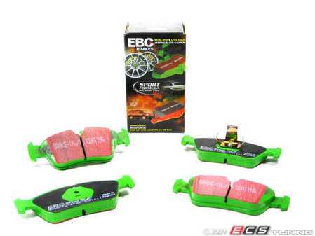ES#517794 - DP21211 - Front GreenStuff Performance Brake Pad Set - Designed as a mildly upgraded pad, great for an afternoon of sporty driving. - EBC - BMW