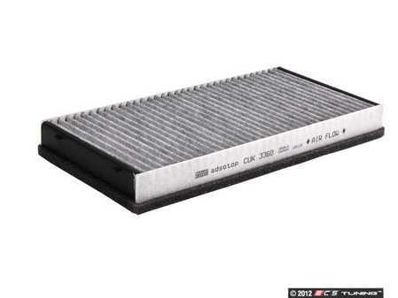 ES#2535312 - 99757121901 - Charcoal Activated Cabin Filter - Filter the air coming into your vehicle - Mann - Porsche