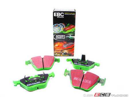 ES#517799 - dp21449 - Front GreenStuff Performance Brake Pads - Mildly upgraded pad, great for an afternoon of sporty driving. - EBC - BMW