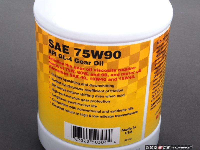 Redline mt-90 tranny oil