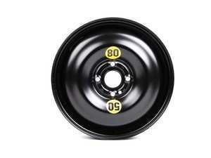 ES#64584 - 36111509164 - Emergency Steel Wheel - Spare - 15 x 3 1/2 ET:35 , Rim only for 115/70/15 tire size. - Genuine MINI - MINI