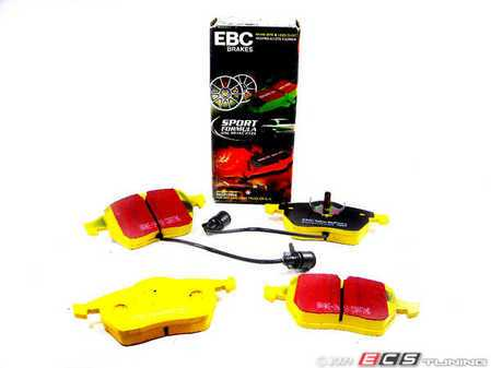 ES#517825 - DP4836R - YellowStuff Performance Brake Pads - Round Sensor - Race quailty pad that can be used at the track, then get you back home. - EBC - Audi