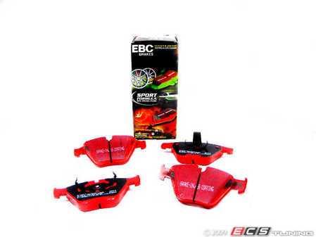 ES#517729 - dp31449c - Front RedStuff Performance Brake Pads - A high performance street pad, featuring Kevlar technology - EBC - BMW