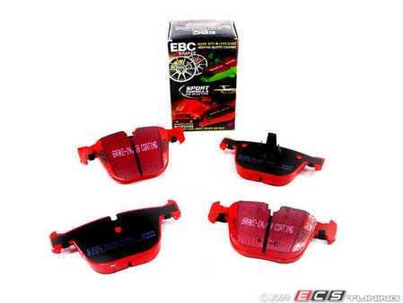 ES#517808 - DP31451C - Rear RedStuff Performance Brake Pad Set - A high performance street pad, featuring Kevlar technology - EBC - BMW