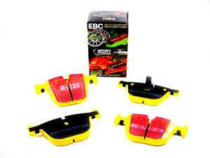 ES#517815 - DP41451R - Rear YellowStuff Performance Brake Pad Set - A race quailty pad that can be used at the track and street - EBC - BMW