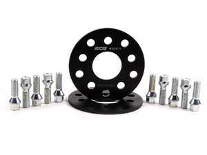 ES#2568230 - ECS10611KTWBC -  ECS Wheel Spacer & Bolt Kit - 7mm With Conical Seat Bolts - Includes everything you need to install spacers on two wheels - ECS - Audi Volkswagen
