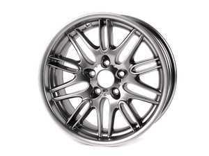 "ES#64648 - 36112228950 - 18"" M Double Spoke Style 65 Wheel - Priced Each  - 18X8 ET20 5x120 74.1CB. Chrome Shadow taken from the E39 M5 - Genuine BMW - BMW"