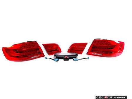 ES#2219773 - 92LRFKT3 - LCI Tail Light Retrofit Kit - Includes LED tail lights, trunk lights, FRM3 module, and wiring harness. - Genuine BMW - BMW